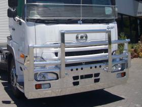 UD Quon GW25470 Custom Built alloy FUPS bull bar       #7