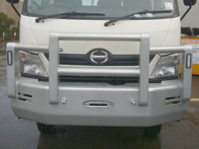 Hino 300 4x4  Powder Coated Alloy Bullbar        #10