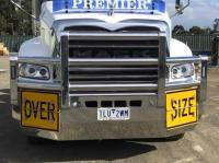 Mack Granite FUPS compliant polished custom bullbar      #21