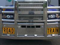 Mack Titan Custom Built Fups Road Train Bullbar with extended backing plate        #11