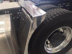Sania Front Conveyor Belt Guard mount         #37
