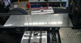 Aluminium Chassis Walk Plate       #2