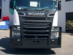 Scania Powder Coated FUPS bullbar        #18