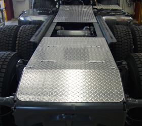 Aluminium chassis safety walk plates & covers       #3