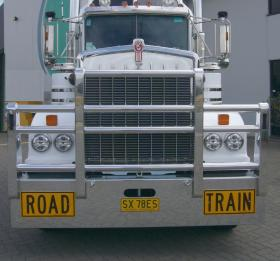 KW T900 Legend Custom Built Fups Compataible Road TrainBullbar      #17