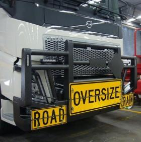 Volvo FH Powder Coated FUPS Road Train bullbar   #18