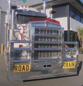 KENWORTH T904-T908 Fups Compliant Road Train Bull bar  #64