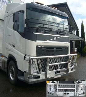 Volvo FH-FM Low profile hi-tensile aluminium Fups bullbar    #16