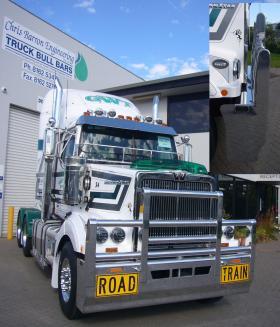 Western Star Aluminium FUPS Roadtrain Bull Bar     #7