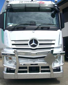 Mercedes 2658 Fups Compatible Bullbar   #16