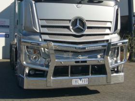Actros High Tensile Alloy Fups polished high tensile aluminium bullbar    #10