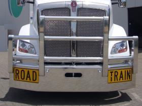 KW T610 Fups Compliant Custom Polished Alloy Road Train Bullbar        #45