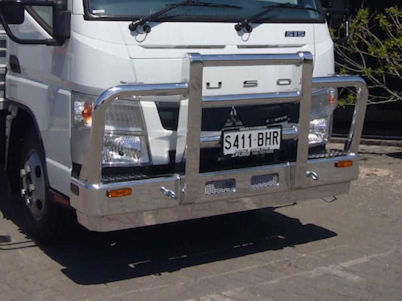 Fuso Canter 515 Custom Built aluminium deluxe high tensile custom bull bar            #7