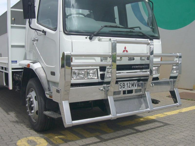 Fuso Fighter 1427, Narrow Cab Non Fups High Tensile Alloy Bulll Bar            #15
