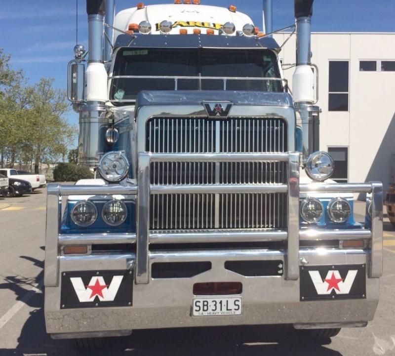 Western Star 4800-4900 Hi-Tensile Alloy FUPS Road Train Bullbar     #6