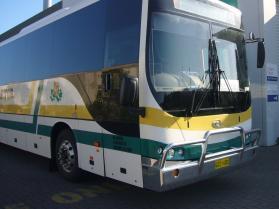 Daewoo Coach hi-tensile bullbar    #6