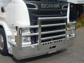 Scania R620 Fups high tensile polished aluminium bullbar             #16