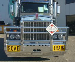 KW T409 SAR FUPS Road Train Custom Bullbar      #39
