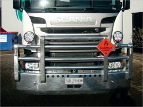SCANIA R480 FUPS high tensile alloy bull bar             #10