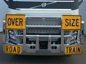 Volvo FH Fups compliant Road Train Hi-tensile alloy Bullbar     #9