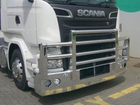 Scania R560 Fups Compatable Hi-tensile Alloy Bullbar      #9