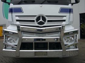 Mercedes Benz 2658 Actros Fups Compatible Alloy Bull Bar     #9